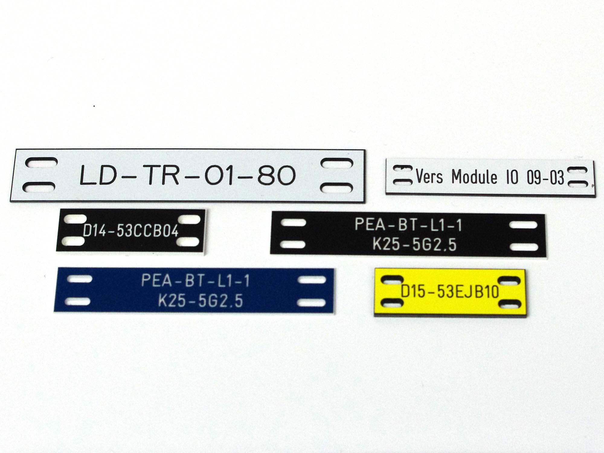 Etiquettes pvc repérage câbles électriques