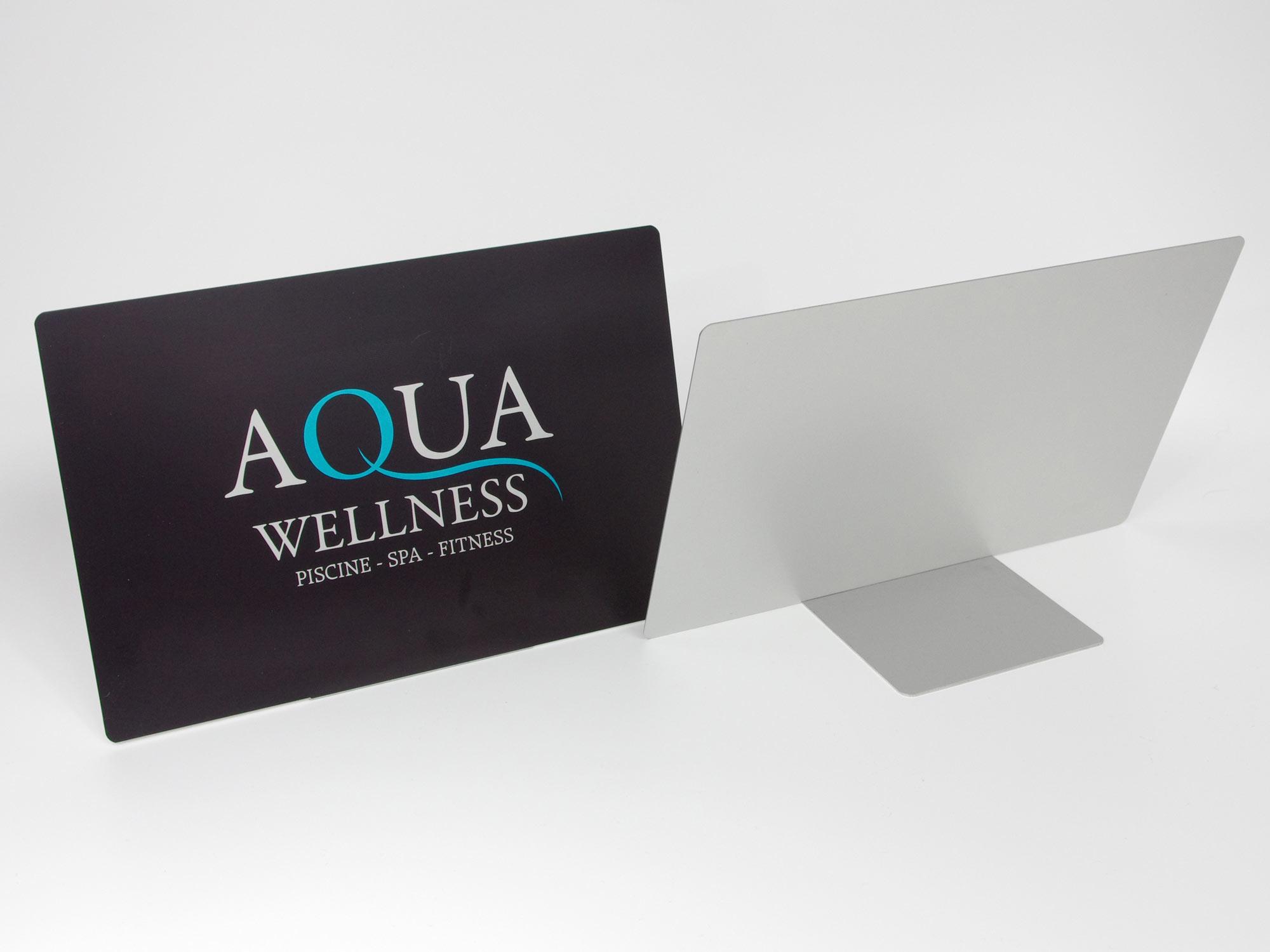 Chevalet publicitaire ,presentoir avec logo